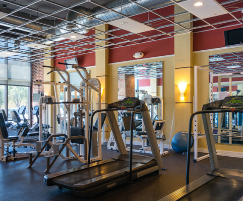 McNulty Lofts Gym Amenities